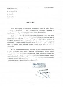 Usługi Transportowe AN-MAR Marcin Jangas